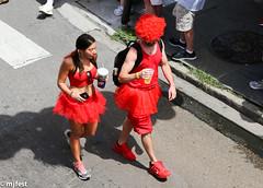Red Dress Run (MJfest) Tags: louisiana dress unitedstates neworleans frenchquarter nola hashhouseharriers reddressrun armstrongpark rdr rdr2014 hashhouseharries reddressrun2014