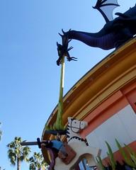 070 Beware Of Vomiting Dragons (saschmitz_earthlink_net) Tags: california disneyland legos orangecounty anaheim downtowndisney 2014 thelegostore