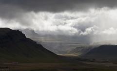 Skógarströnd, (Brynja J.) Tags: sky mountain clouds portrett skógarströnd vanagram álftafjörðurlandscape