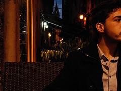 Alessio (Massimo Gerardi) Tags: street city red people plant man church bar night vintage lights evening chair friend mine vespa darkness cloudy strasse via chiesa camicia ciel cielo stadt indie bici sicily luci soir palermo rue divano glise fahrrad freund sicilia vlo cloche amie alle sera citt cykel bycycle amico alessio boutiques parapets nuvoloso palerme hemd sizilien balconi sicilie nuageux biciletta abent tumbrl