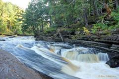 Presque Isle River Rapids - Porcupine Mountains Wilderness State Park (Robert F. Carter) Tags: presqueisleriver porcupinemountainswildernessstatepark michiganstateparks stateparks northcountrytrails rapids rivers theporkies porcupinemountains robertcarterphotographycom ©robertcarter puremichigan