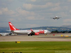 Jet2 B738(W) G-GDFR taxiing while EasyJet A320(S) G-EZWO is on approach at MAN/EGCC (AviationEagle32) Tags: uk man manchester flying airport unitedkingdom aircraft aviation airplanes flight apron landing planes airbus boeing departure avp aeroplanes arrivals easyjet a320 manchesterairport taxiing b737 ringway planespotting jet2 airbus320 boeing737 egcc b737800 a320200 b738 onapproach aviationphotography jet2com a320s b737ng b738w manchesteravp sharklets jet2holidays ggdfr gezwo flickraviation manchesterairportt1 manchesterairportatc