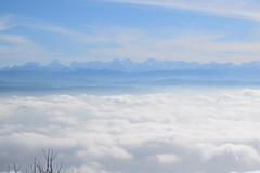 Berge und Nebelmeer (Lara von Dniken) Tags: mountains nebel berge nebelmeer