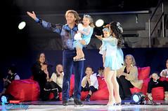 John Zimmerman, Silvia Fontana and daughters Sofia and Eva