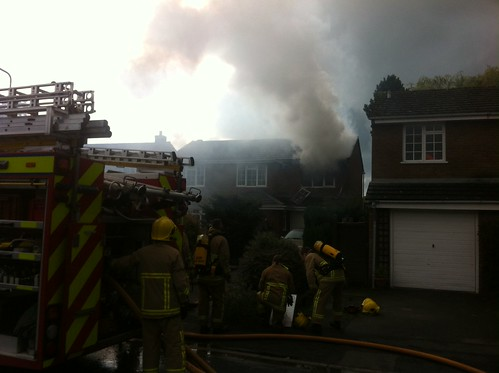 Fire at 134 Greenacres, Wetheral