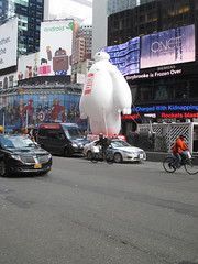Baymax  Balloon Big Hero 6 Times Square 2014 NYC 0672 (Brechtbug) Tags: new york city nyc 6 moon man anime guy film car yellow computer movie poster square robot big rat day character cartoon ad balloon puff police astronaut disney parade marshmallow hero animation type strike macys times friday cabs six michelin android stay cosmonaut droid androids 2014 puft 11072014 baymax