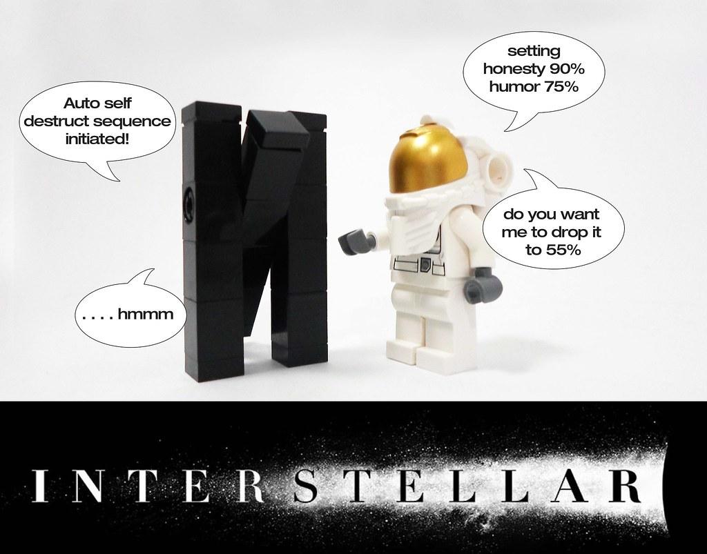 Tars Interstellar Lego