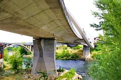 Ourense Orense - Galice - Espagne - 147 le Pont du Millnium au dessus du Ro Mio (paspog) Tags: bridge spain galicia pont brcke espagne spanien ourense orense galice romio pontdumilnium