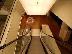 Down Escalator (mikecogh) Tags: amsterdam library escalator handrail bibliotheek