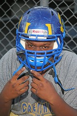 D112109A (RobHelfman) Tags: sports losangeles football highschool practice crenshaw