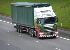 H8112 - PE64 ETA (Cammies Transport Photography) Tags: truck donna energy lorry eddie natasha eta flyover scania renewable esl m74 lockerbie stobart eddiestobart r450 pe64 h8112 pe64eta
