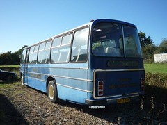 Numerous shades of blue (Coco the Jerzee Busman) Tags: uk blue bus islands coach cannon jersey swift tours channel leyland stringer wadham lcb tantivy elme
