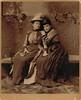 Beautiful dresses (sctatepdx) Tags: portrait oldportrait brattleborovermont vintagedresses vintagehats victorianwomen antiqueportrait victorianhats victoriandresses victorianportrait