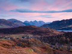 "Late autumn evening looking towards the 5 Sisters of Kintail II • <a style=""font-size:0.8em;"" href=""http://www.flickr.com/photos/26440756@N06/15828635895/"" target=""_blank"">View on Flickr</a>"