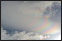 Irisation Cloudscape (Zelda Wynn) Tags: sky beauty weather skyscape rainbow wind auckland windswept cloudscape troposphere irisation zeldawynnphotography