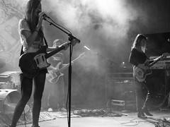 Warpaint (jhwill) Tags: livemusic warpaint blackandwhite monochrome vscofilm michigan saintandrewshall iphone7plus blackwhite concert bw music detroit performer