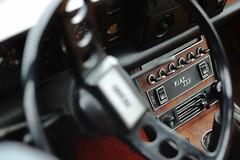 Fiat 130 coup (Nicolas Fourny photographie) Tags: canon 600d 50mm fiat fiat130 vintagecar classiccar italianmeeting2016 montlhry france dof depthoffield profondeurdechamp dashboard interior