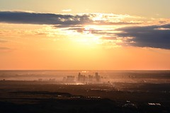 Denver Downtown as the sunrises. (JiggieSmalls) Tags: denver colorado beautiful yellow ligh sun light natural nature