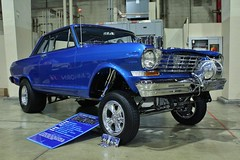 52nd Annual LA Roadsters Show (USautos98) Tags: 1965 chevrolet chevy nova gasser hotrod streetrod custom