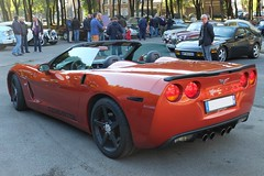 CORVETTE C6 (xavnco2) Tags: corvette c6 roadster convertible rassemblement mensuel automobile cars car meeting raduno lahotoie amiens octobre 2016 club arpaa