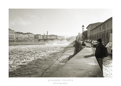cestello (imagina (www.giuseppemoscato.com)) Tags: cestello arno firenze blackwhite biancoenero florence streetphotography
