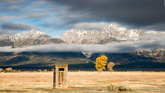 The Outside Toilet (Images by William Dore) Tags: usa landscape nikon df nikondf trees cold autumn fall mountains outdoors outside wyoming nationalpark