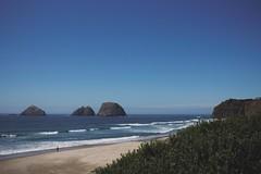 Oceanside (Coralee Annibal) Tags: landscape ocean nature outdoors blue oregon oregoncoast exploreoregon beach