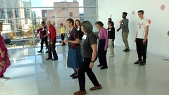 Hula Day! (sfrikken) Tags: ballroom basics balance madison wisconsin senior center central library dance fitness exercise falls prevention hula physical occupational therapy video darcie roger bill brenda elise joshua menecy morris mariana shela joyce jennifer alice sue ardis sunny jon