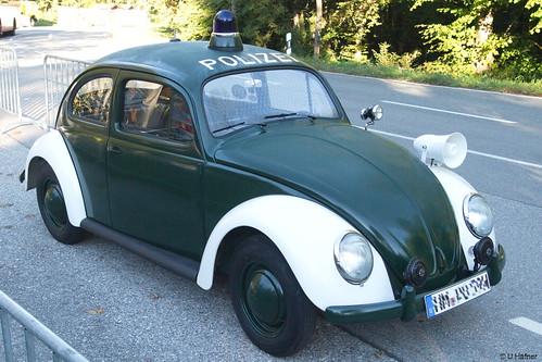 6bb- VW Käfer Polizei - Rossfeld 2016