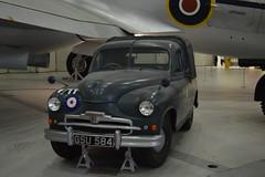RAF Vanguard Pick Up Truck 1952 (lcfcian1) Tags: duxford air museum iwm imperial war cambridgeshire imperialwarmuseumduxford iwmduxford aviation history duxfordairmuseum vanguard raf pick up truck 1952 rafvanguardpickuptruck1952