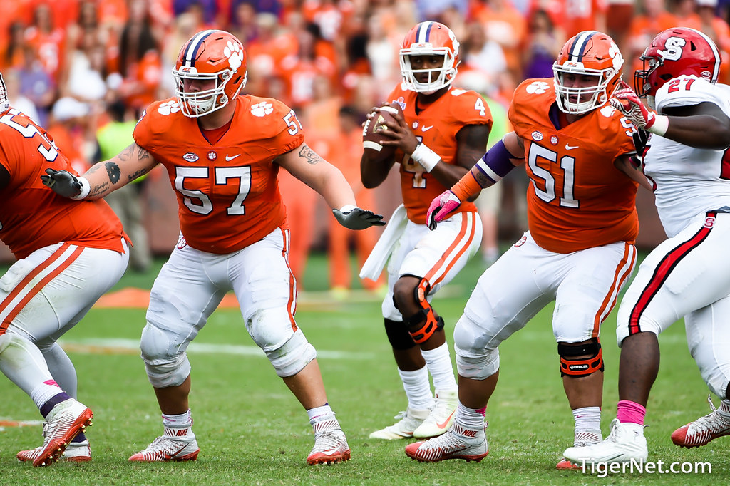 Clemson Photos: Jay  Guillermo, Taylor  Hearn