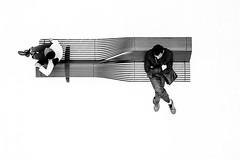 La Panchina (Domenico Laviano) Tags: fine art black white panchina