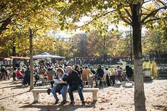 Early Autumn (ManonOfTheSprings) Tags: paris parisian french france garden autumn fall leaves fallinparis canon 50mm 5d mark iv portrait people weekend boheme