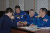 jsc2016e181829 (NASA Johnson) Tags: expedition 50 peggy whitson preflight prelaunch training baikonur cosmodrome cosmonaut hotel tree planting medical checkout thomas pesquet jack fischer flight suit international nasa roscosmos esa france
