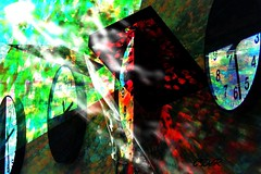 Layered photo (C.DeR) Tags: clock layers layered multipleexposure 3d cder