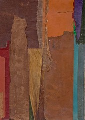 Abstract with Purple Corner (Jeff Kallet) Tags: kallet collage contemporaryart artonpaper fineart