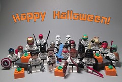 Clone Costume Party (Happy Halloween 2016!) (StarSaberSlash) Tags: lego starwars halloween happyhalloween clones costumes party
