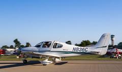 N836C Cirrus, Oshkosh (wwshack) Tags: airventure2016 cirrus eaa eaaairventure kosh osh oshkosh usa unitedstates whittmanregional wisconsin n836c