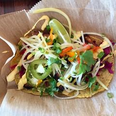 pork belly and pickled papaya tacos (frodnesor) Tags: cholosoycocina mexican tacos westpalmbeach clayjames