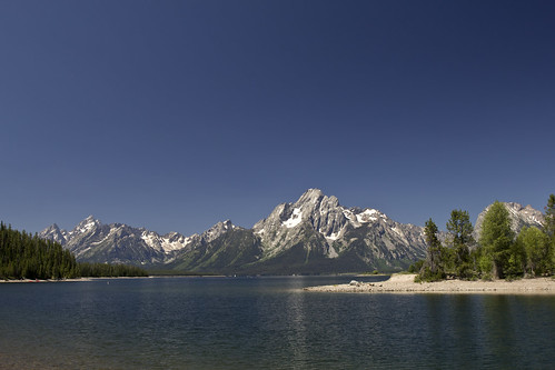 Mt Moran and Jackson Lake