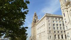 Pier Head, Liverpool (wattallan594) Tags: united kingdom england liverpool royal liver building cunard 3 graces pier head