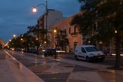 Corso Roma, Gallipoli (Peder Sterll) Tags: italia italiy puglia gallipoli nikon d7100 corsa roma blue hour street light nikkor 24mm f14
