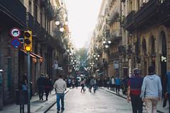 Street I (Emanuel Castelo) Tags: barcelona bcn catalunya architecture gaudi sagrada familia guel batllo casa house arc triumph park street people sky details travel sea