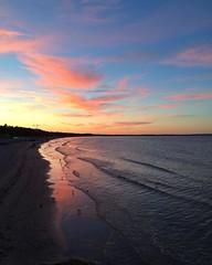 #nofilter #binz (zonenfred) Tags: instagramapp square squareformat iphoneography uploaded:by=instagram sunset binz ruegen rgen inselrgen nofilter ostsee strand beach