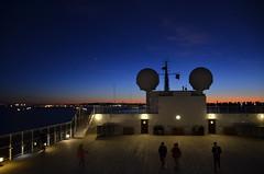 DSC_5001 (Vintage Alexandra) Tags: queen mary 2 ship ocean liner cunard qm2 travel sunset nighttime photography