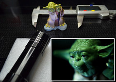 Macro Mondays: Mysterious: Yoda (plz read Description) (Mark Photography 2017) Tags: angle art artificial background blurred caliper calipers calliper callipers character close closeup composition crafts fantasy fiction flashlight focus format framing general genre grand head headshot horizontal indoor interior jedi lamp lantern light lighting macro master mythical object order orientation photo photography portrait profile scifi setting shot star style tool torch universe up view wars yodaartscraftsphotographysettinginteriorindoorphotogenrestyletypeartmacroorientationportraitlightingartificiallightframingcompositionheadshotheadshotcloseupcloseupformathorizontalfocusbackgroundblurredangleviewprofilemyth