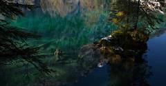 lake of tears (Toni_V) Tags: m2402144 rangefinder digitalrangefinder messsucher leica leicam mp typ240 28mm elmaritm elmaritm12828asph blausee kandertal mitholz mountainlake bergsee sculpture berneroberland berneseoberland alps alpen switzerland schweiz suisse svizzera svizra europe toniv 2016 161112