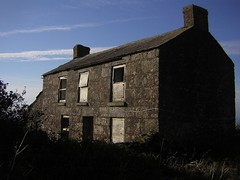 Higher Botallack (leavesandpuddles) Tags: stjust penwith cornwall cornish kernow carnyorth higherbotallack derelict decaying decay dereliction murdershack chiaroscuro winter abandoned abandonedfarm derelictcottage granite farmhouse