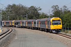 Up Kippa Ring Branch (jamesmp) Tags: queenslandrail qr suburbanmultipleunit 200seriessmu smu electricmultipleunit asea electrictrain localtrain suburbantrain petrie queensland australia