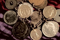 Coins collected during WWII service